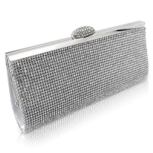 crystal bridal clutch bag, wedding clutch bag, evening bag